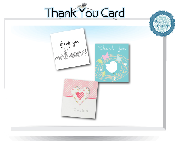 Thank You Card Size Standard 44 Mm X 54mm No T Allowed Bleed 46 56