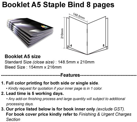 ACC Product Detail Staple A5 8pgs