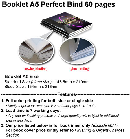 ACC Product Detail Perfect A5 60pgs