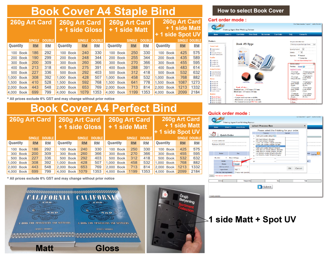 Best Book Cover Editor ~ Acc product detail staple a pgs printing agent s best